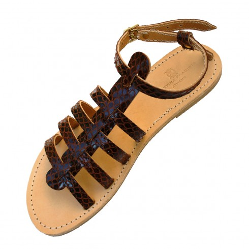athos-dark-brown-snake-sandal
