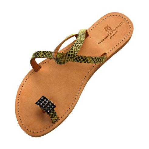 donoussa-yellow-snake-sandal
