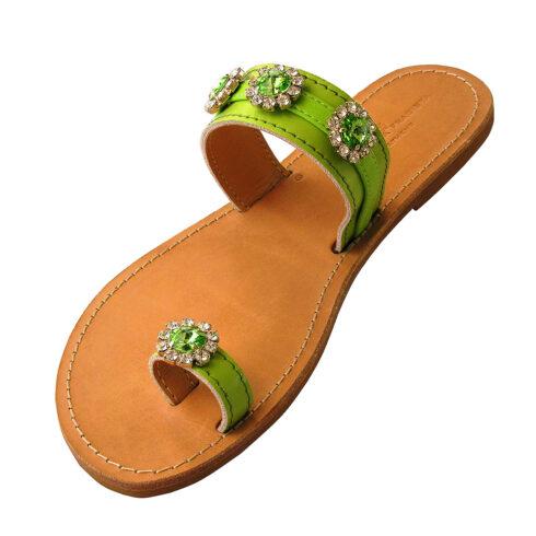 erikoussa-green-sandal