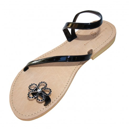itea-black-flower-sandal