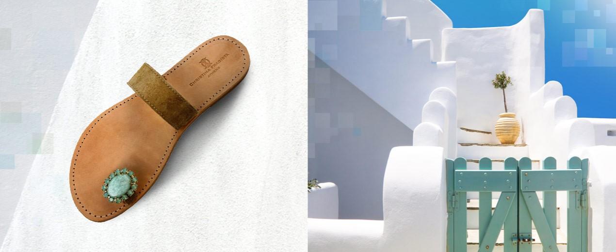 Leather Sandals Handmade Luxury Greek Sandals