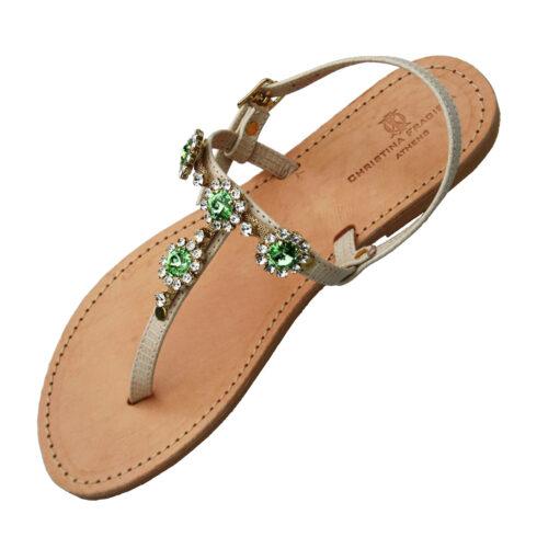 mykonos-green-sandal